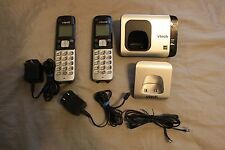 V-Tech Cs6719-2 Dect 6.0 Cordless Phone Caller Id/Call Waiting With 2 Handsets