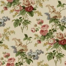 "WAVERLY VALANCE Ascot Emma's Garden Jewel Lined 3"" Rod Pocket"
