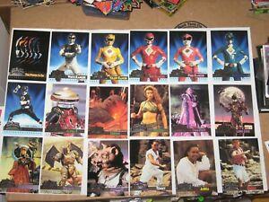 1995 Fleer Ultra Mighty Morphin Power Rangers The Movie BASE 150 Card SET!