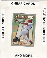 1999 TOPPS OPENING DAY  HR Record #70 MARK MCGWIRE