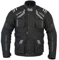 BUSA Bikers Gear GloRider Waterproof Breathable Thermal Armour Motorcycle Jacket