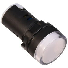 Cruscotto Lampadina LED Indicatore 24V Bianco Luce - Pilot Control Indicator