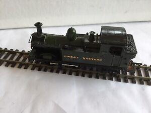 AIRFIX OO Gauge GWR 0-4-2t 4817 Repainted & Detailed.