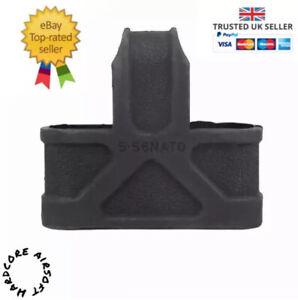3 X Airsoft Magazine Finger Pull AEG STANAG M4 M16 Mag Pouch Not Magpul Bb Gun