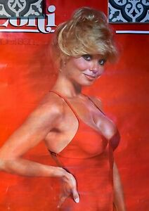 Vintage Loni  Anderson Poster 1978  USED Condition with pin holes etc.