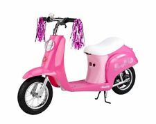 Razor Pocket Mod Euro Girls Electric Scooter Sweet Pea - Missing Wheel