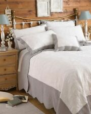 Embroidered Modern 100% Cotton Decorative Bedspreads