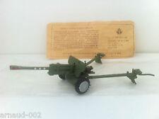 Ancien jouet - Canon Soviétique en métal et plastique 17 Cm - USSR - Vintage