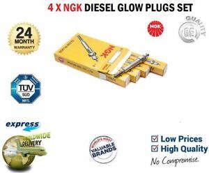 4x NGK GLOW PLUGS for VAUXHALL VECTRA II 2.0 DTI 16V 2002-2008