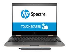 """HP Spectre x360 13 13.3"""" 4K Touch 8gen i7-8550U 16GB 512GB SSD Pen Dark Ash"""