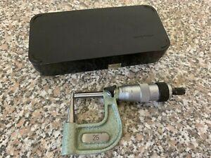Mauser  Bügelmessschraube Mikrometer 0-25  Nr.19