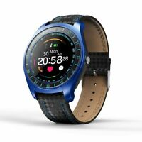 V10 Smart Watch Men Camera Bluetooth Pedometer Heart Rate Sim Card Android Phone