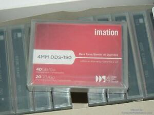 Imation 4mm DDS-150 Data Tapes - DDS4 - 6600010180 - 20GB / 40GB - Lot