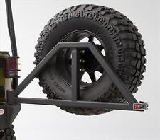 Body Armor 4X4 Rear Swing Arm Tire Carrier 87-17 Jeep Wrangler JK 5294 Black