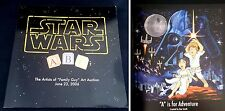 Star Wars ABC's Artists of Family Guy Art Auction Book Catalog 2006 LTD 176/300