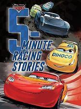 5-Minute Stories: Racing Stories by Disney Lightening McQueen Padded hardcover