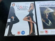 Changeling & Mr and Mrs Smith   Dvd Angelina Jolie
