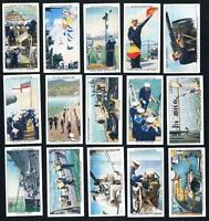 1939 Wills Life In The Royal Navy Near Full 49/50 Tobacco Card Set