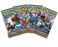 Pokemon EARLY XY Furious Fists booster pack Full Art Set of 4 different boosters