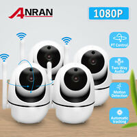 1080P HD WiFi Wireless Security Camera Indoor Audio Monitor Home Night Vision IR