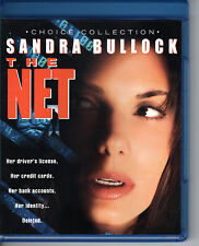 The Net Blu-Ray (1995) Sandra Bullock, Dennis Miller - Choice Collection - USA