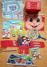 HUGE LOT JOLLIBEE COLLECTIBLES PARTY FAVORS Jollirace Theme