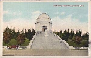 WB postcard, McKinley Memorial, Canton, Ohio