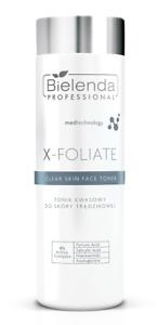 Bielenda Professional X-Foliate Clear Skin Anti Acne Face Toner with Acids 200ml