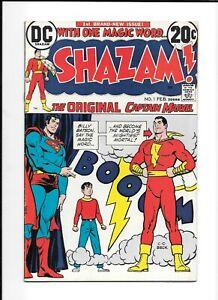 SHAZAM #1 DC COMIC 1973 UNPRESSED 1ST BRONZE AGE APPEARANCE OF CAPTAIN MARVEL