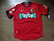 Kashima Antlers 100% Original Soccer Jersey M 2010 Home Still NEW J-League Japan