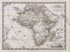 1862 Stieler Mappa Africa Vintage Poster Art Print 12x16 pollici 30x40cm 2938py