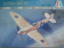 WWII British Spitfire Mk. IX Italeri Kit No. 2651 1:48 scale NEW stretch wrapped