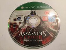 XBOX 360 GAME ASSASSIN'S CREED II GAME OF THE YEAR GOTY EDITION PAL DISC ONLY