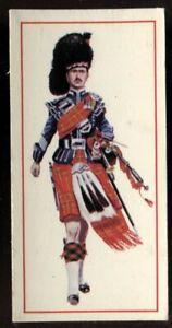 Tobacco Card, Carreras, Black Cat, MILITARY UNIFORMS, 1976, Pipe Major, #45