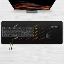 Weapon Game Knife Mouse Pad Large Size Laptop Mat Mousepad 80cm*30cm For CsGo