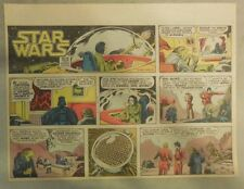 Star Wars Sunday Page by Alfredo P. Alcala from 9/14/1980 Large Half Page Size!