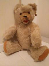 Teddybär Marke Fechter, grau braun, gebraucht