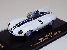1/43 IXO Jaguar Type D  car #9 1955 24 Hours of LeMans  LMC029