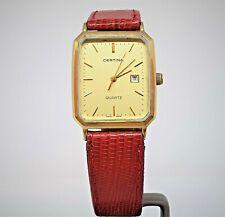 Vintage Certina Swiss V8 quartz mens' watch cal 182-2