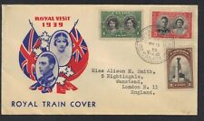 CANADA 1939 ROYAL TRAIN POSTED COVER OF THE ROYAL VISIT
