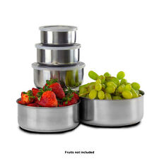 5 Piece Stainless Steel Mixing Bowl