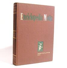 ENCICLOPEDIA MOTTA VOL. V - FEDERICO MOTTA EDITORE - MILANO 1965