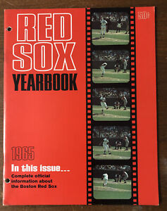 1965 Boston Red Sox Yearbook 48 Pages MLB Baseball Yearbook