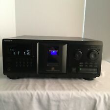 New listing Sony Cdp-Cx355 Mega Storage Compact Disc 300 Cd Changer Player Jukebox Tested