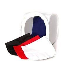 """CowboyStudio 17"""" Photo Soft Box Light Tent Cube, 4 Color Backdrop"""