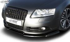 RDX Spoilerlippe für Audi A6 C6 Typ 4F S-Line Schwert Front Ansatz Splitter