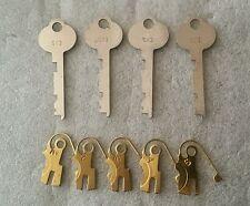 4) SY3 guard keys & levers. Safe deposit , Sargent Greenleaf S&G 4231, Yale B231