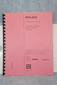 Bolex H16EBM Camera Spare Parts & Service Instructions German French English