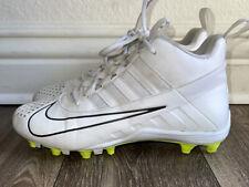 New listing Nike alpha huarache 6 boys lacrosse cleats size 7 white