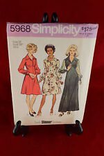 Simplicity 5968 Size 12 Sewing Pattern